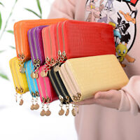 Women Long Leather Wallet Card Holder Phone Case Purse Handbag Clutch Wristlet
