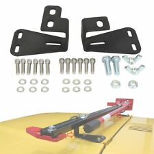 Lock Hi-Lift Farm Jack Upper Hood Holder Bracket For Jeep CJ/YJ/TJ 1944-2006