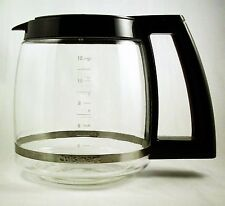 Cuisinart Dcc1200Prc Dcc690 Cbc00 Cbc1600 Cbc4400 12 Cup Glass Carafe Black
