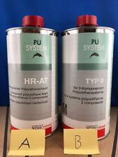 HR AT Schaum 2K PU System 1,7kg Voss Chemie 1700g Typ II und Unizell-Schaum