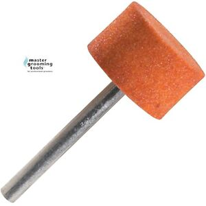 Master Grooming Tools REPLACEMENT LARGE Grinding STONE For ALL NAIL MGT GRINDERS