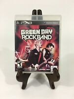 Green Day: Rock Band (Sony PlayStation 3, 2010) PS3 Missing Manual