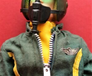 Vintage Action Man VAMAN Repro Scarf Yellow Helicopter Pilot