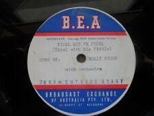 yiddish jewish 78 RPM-molly picon- yid'l mit'n fiddle- rare australian acetate
