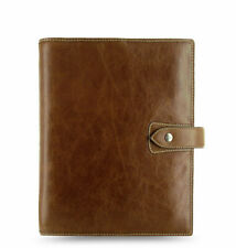 Filofax - A5 Malden Ochre - Hand Finished Full Grain Buffalo Leather Organiser