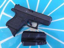 Crazy Eyes Holsters, Glock G26, G27 IWB KYDEX Holster/trigger Guard