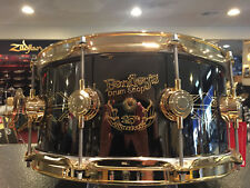 DW Drum Workshop Bentley's 25th Ann. Ltd. Edition Engraved Snare Drum