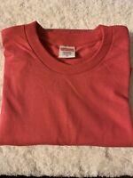 Supreme Blank Tee Fuchsia Pink Size Medium Short Sleeve