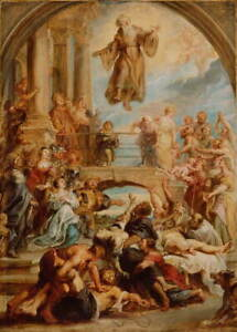 Peter Paul Rubens The Miracles of Saint Francis of Paola Giclee Canvas Print
