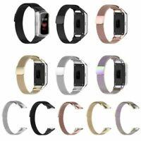 Für Samsung Galaxy Fit SM-R370 Uhr Edelstahl Milanese Armband Ersatz Band Strap