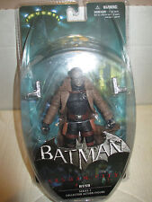 """2012 Batman Arkham City Series 2 MOC 7"""" Hush Action Figure DC Direct"""