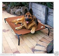 Elevated Pet Bed Fabric Dog Puppy Animal Sleep Home Outdoor Large Coolaroo Mater