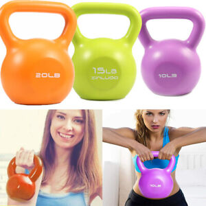 Kettlebells Weights Sets Strength Exercise Fitness Home Gym Rack Stand Heavy
