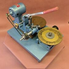 Rare Vtg. Watchmakers Milling Machine -  Gear & Wheel Cutter  - skeleton clock -