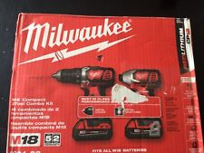 Milwaukee 2691-22 2M18 18-V Drill Driver/Impact Driver Combo Kit