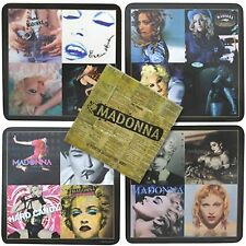 Madonna - 4 Piece Coaster Set Rock Off Jouet