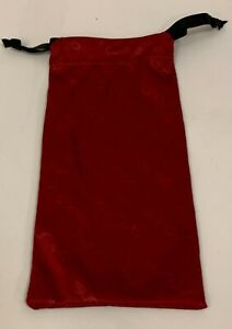 New SUNCLOUD Maroon Red Sunglasses Microfiber Pouch Eyeglasses Case Bag(Printed)