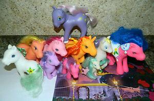 My Little Pony Fakie Phony Toy Lot~Some Vintage Figures~Unicorns Pegasus Ponies