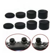 8pcs Black Silicone Thumb Stick Grip Cover Caps For PS4 Xbox One Controller