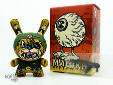 "Super Soldier - Kidrobot Mishka Dunny Series 2016 3"" Vinyl Figure New"