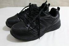 SINTETICO  mens athletic shoes size 7.5 M faux leather material black color