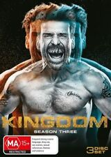 Kingdom : Season 3 (DVD, 2018, 3-Disc Set)