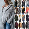 Ladies Tassel Cardigan Knitted Sweater Travel Poncho Shawl Coat Outwear Tops New