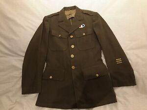 Original WW2 US Army 4 Pocket Class A Tunic/jacket