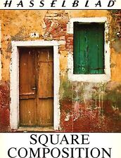 1976 HASSELBLAD SQUARE COMPOSITION PHOTOGRAPHY GUIDE BROCHURE -HASSELBLAD