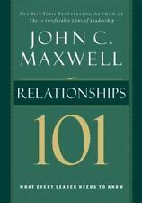 Relationships 101 (Maxwell, John C.), John C. Maxwell, Good Condition, Book
