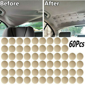 Car Roof Repair Rivets Sagging Headliner Fix Repair Pins 60 pcs Snap Rivet