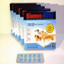 Pet Tablet Pill Biomec 8000 Remove Prevent Ticks and Fleas for Dogs Cats(1 Pack)