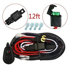 40A 12V Power Switch & Relay Wiring Harness Kit for 1 or 2 LED Work Light Bars