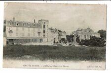 CPA-Carte Postale FRANCE -Chatel Guyon- -L'Hotel des bains et le Théâtre en 1909