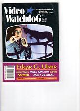 WoW! Video Watchdog #41 Mars Attacks! Leatherface! Scream! Supercop! E. Ulmer!