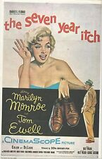 MARILYN MONROE 11X17 HIGH GLOSS MOVIE COLOR POSTER SEVEN YEAR ITCH