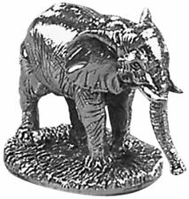 Orton West Unisex Elephant Ornament - Silver
