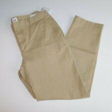 NWT GAP Women's Khaki Pants Slim City Crop Size 00 MSRP$50 Free Ship New