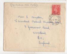 Field Post Office 863 Postmark 1953 Cover Kempton Wanstead Medical Nursing 448b