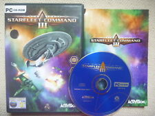 STAR TREK STARFLEET COMMAND III 3 PC NEAR MINT Complete with Manual!