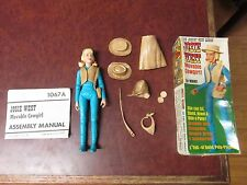vintage Johnny West Josie West movable cowgirl action figure  Marx with box #3