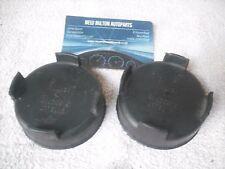 2 X GENUINE ROVER 400 HEADLIGHT HEADLAMP RUBBER BULB COVER CAPS CARELLO 54532948