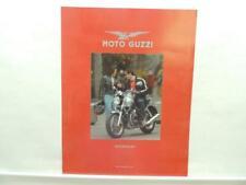 Moto Guzzi Motorcycles Brochure Breva 1100 V11 Ballabio Le Mans Cafe Sport B1899