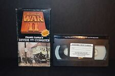 WORLD WAR II DIVIDE AND CONQUER VHS TAPE