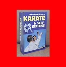 ☆MARTIAL ARTS BOOK:THE COMPLETE BOOK OF KARATE/SELF DEFENSE:KEMPO+JUDO TACTICS☆%