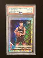 2019-20 Donruss Optic Premium Set Tyler Herro SCOPE PRIZM SP RC #/249 PSA 10 GM