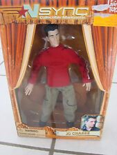 Living Toyz Nsync Collectibles Marionette Jc Chasez Figure 2000 new