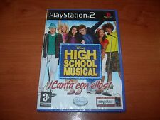 HIGH SCHOOL MUSICAL ¡CANTA CON ELLOS! PS2 (PAL ESPAÑA PRECINTADO)
