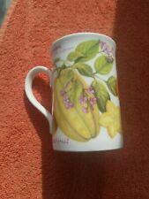More details for one royal grafton fine bone china mug, summer fruits, vgc