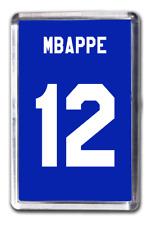 Kylian Mbappe France Number 12 Football Shirt Fridge Magnet Design